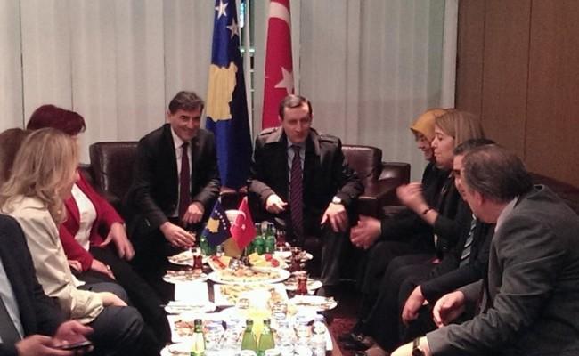 T.C. Başbakan Yardımcısı Emrullah İşler Kosova'da