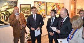 Çağdaş Kosova Türk Ressamları Segisi Açıldı