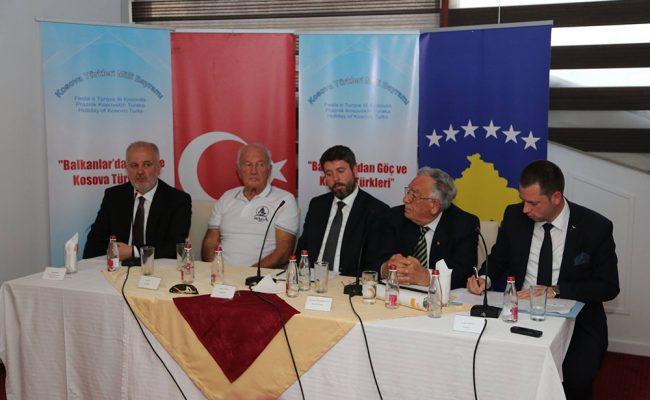 """""""Balkanlar'dan Göç ve Kosova Türkleri"""" Masaya Yatırıldı"""